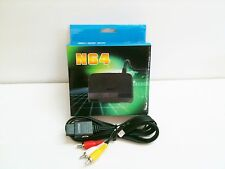 NEW N64 COMBO AC Power Adapter Cord + Audio Video AV Cable For Nintendo 64