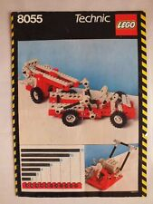 LEGO technic manuel 8055 universal set, instruction