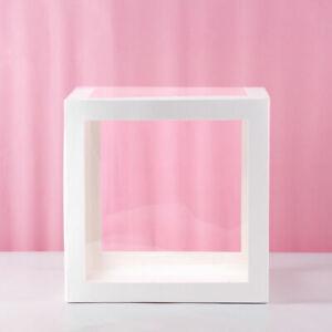 "12"" Transparent Box A-Z 0-9 & ❤ Storage Balloon Baby Shower Birthday Party Decor"