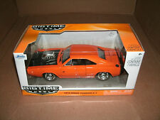 1/24 Scale 1970 Dodge Charger R/T Diecast Model Blown Muscle Car Jada Toys 96953