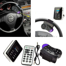 Hot Car Bluetooth FM Transmitter MP3 Player Handsfree Steering Wheel USB/MMC/SD