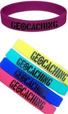 5 x Armband Kinder Geocaching Geschenk Anfänger Swag Trade Wichteln