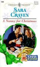 A Nanny For Christmas  (Nanny Wanted) (Harlequin Presents, No. 1999), Sara Crave