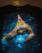SPONGEBOB SQUAREPANTS PATRICK SPACE SLOTH T-shirt MEDIUM NEW w/ TAG Nickelodeon