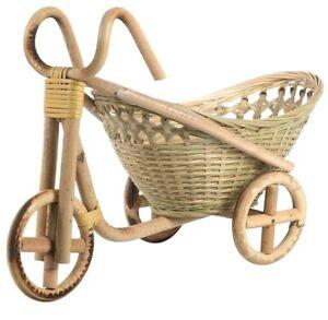 Mini Bamboo Handmade Woven Wicker Straw Basket Rattan for Fruit Food Bread Craft