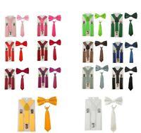 Kinderhosenträger + Kinderkrawatte ODER Kinderfliege  Kinder Krawatte Fliege