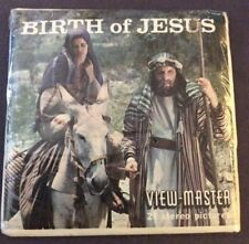 Vintage View-Master Birth of Jesus Stereo Pictures Packet B 875 Sealed