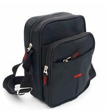 Unisex Messenger Bag Crossbody Shoulder Utility Travel Work Bag Waterproof Black