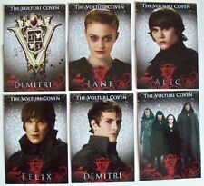Twilight Saga Eclipse Set of 6 Cards The Volturi Coven VO-1 to VO-6 Jane Alec +