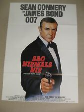 JAMES BOND 007 - SAG NIEMALS NIE - Poster Plakat - Sean Connery