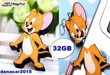 PEN DRIVE PENDRIVE DE TOM Y JERRY 32GB 32 GB MEMORIA USB(4 8 16 64 64GB RATON)