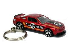 Custom Key chain '12 Ford Mustang BOSS 302 Laguna Seca Track Car