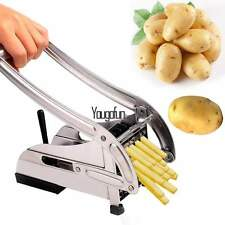 New Stainless Steel Blade French Fry Cutter Potato & Vegetable Slicer & Chopper