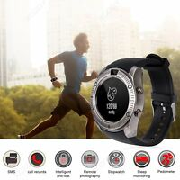 Model 2018 Bluetooth Smart Watch Wrist Phone Mate GSM SIM For iPhone Android IOS