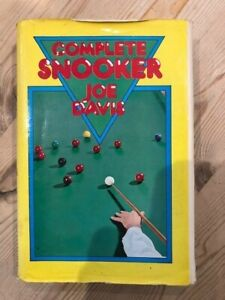 Complete Snooker by Joe Davis