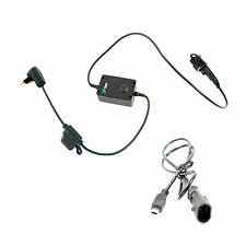 Motorcycle DIN Hella BMW Style Power Charger Cable for Mini USB SatNav Phones