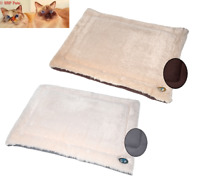 Gor Pets Nordic Crate Mats, Suede & Faux Fur, Cosy Snuggle Beds, Cats, Dogs,
