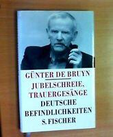 Jubelschreie, Trauergesänge von Günter de Bruyn (1991, Gebundene Ausgabe)