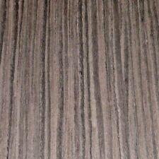"Ebony Brown composite wood veneer 12"" x 8"" raw no backer 1/42"" thickness sample"