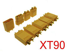 New 10 Pairs Female Male XT90 Banana Bullet Connector Plug For RC LiPo Battery