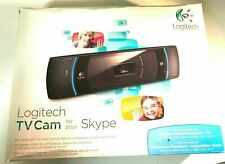 Logitech TV camera for Skype web camera with extension usb cord for Zoom