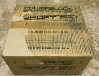 COMPATIBLE PowerBlock Sport 24 Adjustable Dumbbell, 24 lbs (Pack of 2)