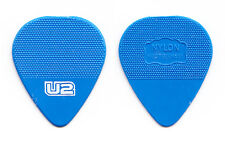 U2 Edge Signature Blue Molded Guitar Pick - 2011 360 Tour