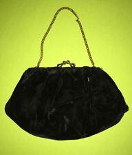 Vintage Velvet Clutch Bag