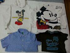 Lotto 621 stock magliette felpe bimbo bambino topolino 5/6 anni