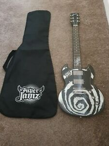 paper jamz instant rockstar guitar wowwee music toy with carry case