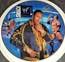 WWF WWE The Rock Danbury Mint Collectors Plate 2001 Superstars