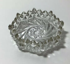 SMALL GLASS PIN / RING / TRINKET DISH VINTAGE