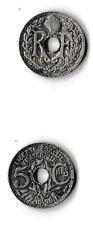 Pièce de monnaie de 5 centimes de 1939 LINDAUER, MAILLECHORT : TTB
