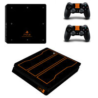 PS4 Slim 2 x Controller Decal Playstation4 slim Console Skin Call of Duty Theme