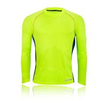 Abbiglimento sportivo da uomo gialla a manica lunga