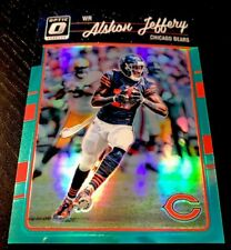 ALSHON JEFFERY - 2016 Donruss Optic AQUA [243/299] #19 - CHICAGO BEARS