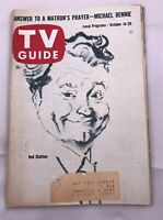 PITT. October 14-20 1961 TV GUIDE Red Skelton Michael Rennie British Television