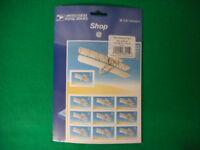 First Powered Flight Mint Stamp Sheet NH VF Original Package