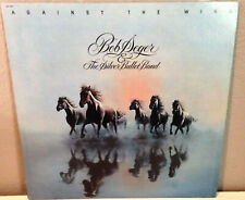 BOB SEGER & THE SILVER BULLET BAND - Against The Wind - Vinyl Record LP - EX