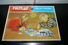80'S POLYPLAST GREEK VINTAGE TOY PLAY TILES BOXED
