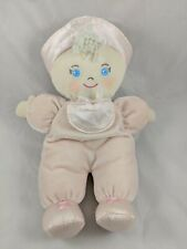 "Dakin Baby Doll Jessica Plush Medium 12"" Blond Blue Eyes Stuffed"