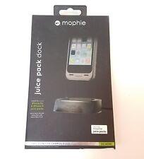NEW Mophie Juice Pack iPhone 5 5S SE Desktop Dock