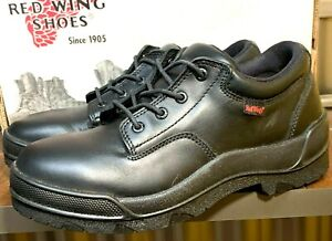 RED WING MEN SIZE 7 D USA MADE  BLACK SHOES STYLE 110 NEW VINTAGE