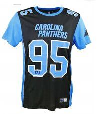1c7edbcbf9a 13 14 Years CAROLINA PANTHERS Poly Mesh NFL T Shirt Majestic Kids Boys  Jersey
