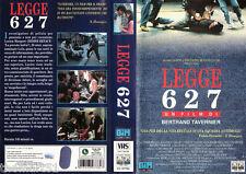 Legge 627 (1991) VHS Columbia Video 1a Ed. -   Bertrand Tavernier
