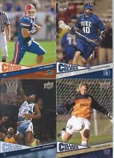 2010 Upper Deck College Colors Set 1-15 Michael Jordan Hope Solo Adrian Peterson