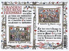FEUILLET F4828 NEUF XX  LUXE - LES GRANDES HEURES DE L'HISTOIRE - BATAILLES ..
