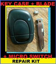 Renault Remote Key Case with Micro switch Clio Megane Kangoo 01- 04 REPAIR KIT