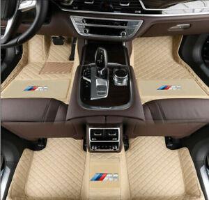 Fit For BMW 1 2 3 4 5 7 Series X1 X3 X4 X5 X6 X7 GT Waterproof car floor mats