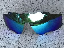 ETCHED POLARIZED ICE BLUE MIRROR REPLACEMENT OAKLEY JAWBREAKER LENS & POUCH